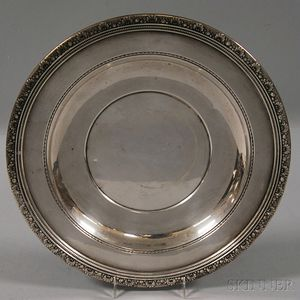 "Reed & Barton ""Medici"" Sterling Silver Serving Tray"
