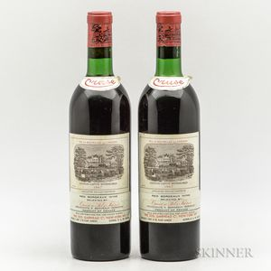 Chateau Lafite Rothschild 1967, 2 bottles