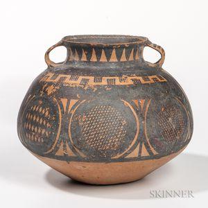 Small Yangshao Painted Pottery Jar