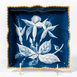 Grainger & Co. Worcester Porcelain Pate-sur-Pate Tray