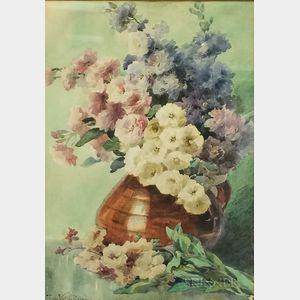 Frieda Voelter Redmond (American, 1857-1939)      Floral Still Life