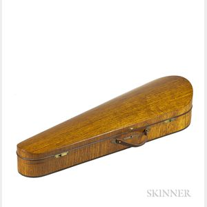 English Violin Case, W.E. Hill & Sons