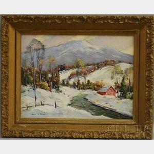 John F. Enser (American, 1898-1962)      Mount Monadnock