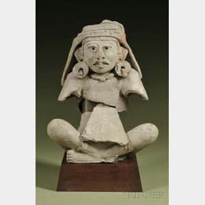 Pre-Columbian Fragmentary Seated Figure