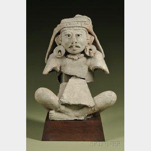 Pre-Columbian Fragmentary Seated Figure