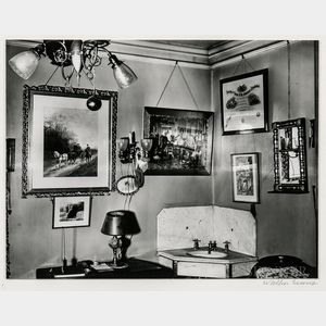Walker Evans (American, 1903-1975)       Interior, Storrs House, Hartford, Connecticut