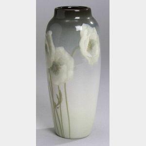 Rookwood Pottery White Poppies Vase