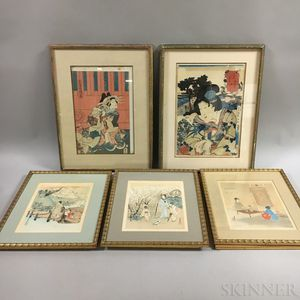 Twenty-three Mostly Woodblock Prints