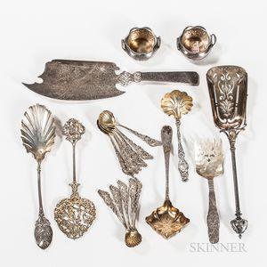 Twenty Pieces of American Silver Tableware