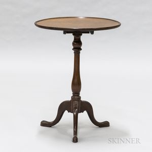 English Mahogany Tilt-top Candlestand