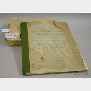 (Bookbinding and Manuscripts), Nine Titles