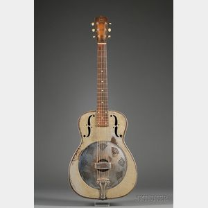 American Resonator Guitar, National String Instrument Company, c. 1935, Model Duolia