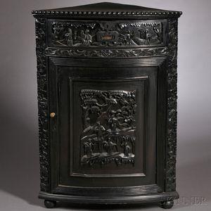 Export Corner Cabinet