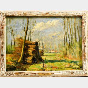 Felix Eyskens (Belgian, 1882-1968)      Spring