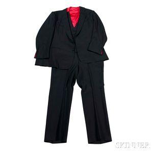 Black Three-piece Nudie Suit, 1978