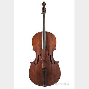 American Church Bass, Moses A. Tewkesbury, Chester, 1840