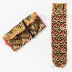 """Flame-stitch Wallet and """"Housewife"""" Sewing Case"""