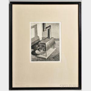 Armen Landeck (American, 1905-1984)    Shaker Stove