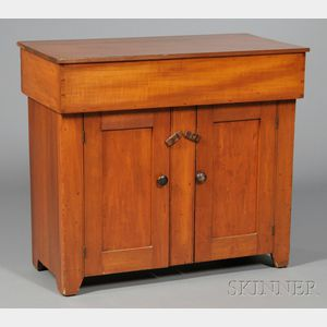 Shaker Red-stained Cherry Dry Sink