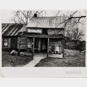 Walker Evans (American, 1903-1975)  Two Works Depicting Rural and Urban Life, Made for the Fortune Magazine Article People and Places