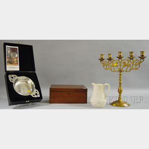 Four Assorted Decorative Items