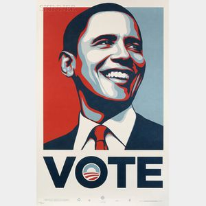Shepard Fairey (American, b. 1970)      Three Posters: André the Giant