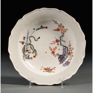 Chamberlain's Worcester Porcelain Shallow Bowl