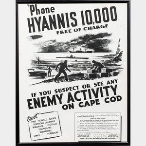 WWII Anti-Espionage Poster