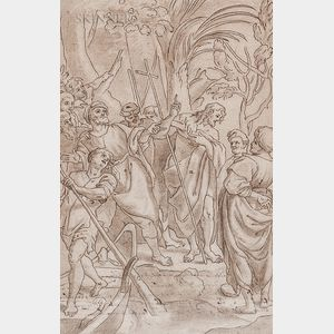 Italian School, 16th Century    John the Baptist Preaching