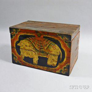 Tibetan Document Box