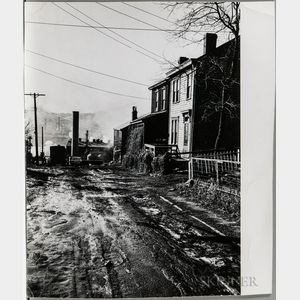 Walker Evans (American, 1903-1975)  Oakland Hill, Pittsburgh, Pennsylvania, Reproduced in the Fortune Magazine Article People and Plac