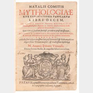 Conti, Natale (1520-1582) Mythologiae sive Explicationis Fabularum Libri Decem.