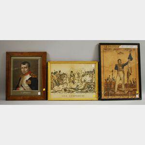 Six Napoleon-themed Prints