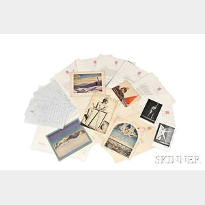 Kent, Rockwell (1882-1971) Archive of Letters and Related Ephemera.
