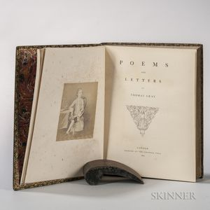 Gray, Thomas (1716-1771) Poems and Letters.