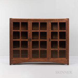 Lifetime Three-door Glazed Bookcase