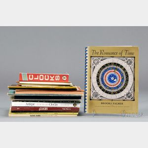 Approximately Twenty Horological Catalogues and Publications on American Clocks