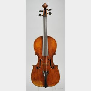 Italian Violin, Ferdinando Alberti, c. 1740