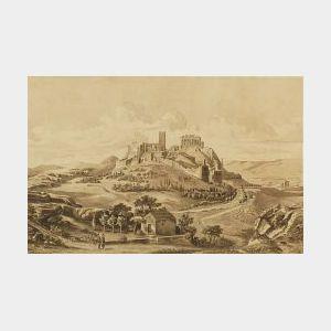 George Hawley Hallowell (American, 1871-1926)  The Acropolis.