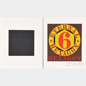 Two Works from the Portfolio X + X (Ten Works by Ten Painters)