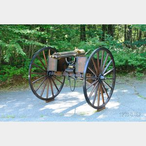 Sold for: $250,000 - Colt Model 1881 Gatling Gun