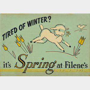 American School, 20th Century      Tired of Winter? It's Spring at Filene's