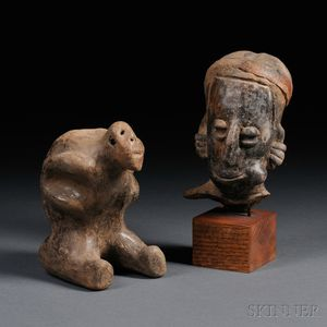Two West Mexican Pre-Columbian Items