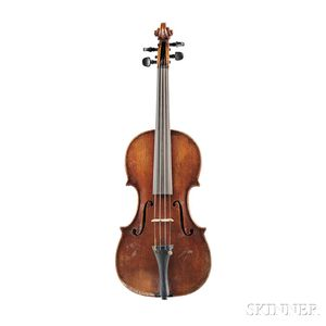 English Violin, Probably Geo. Wulme Hudson, London, 1948