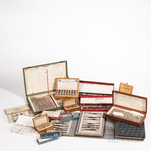 Collection of Watchmaker's and Clockmaker's Parts