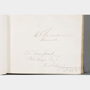 (Autograph Book, 19th Century)