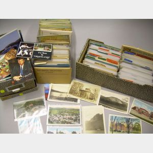 Collection of  New England States Postcards
