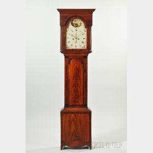Scottish Mahogany Tall Clock