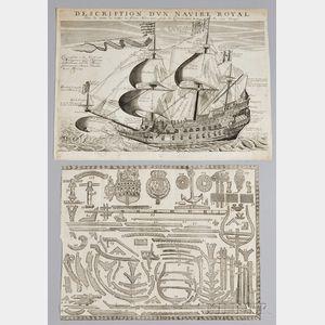 Three Early Maritime Prints