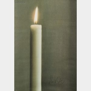 Gerhard Richter (German, b. 1932)      Kerze